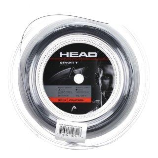 Head Gravity Tennissaite   200M Rolle   Weiss/Grau   125-120