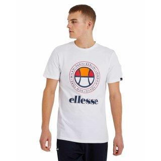 Ellesse Campa Tee Shirt   Herren   White  