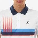 Australian  LAlpina Polo IN ACE bedruckt | Herren | weiß |