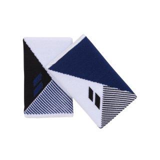 Babolat Reversible Jb Wristband   Unisex   White Estate Blue   one size
